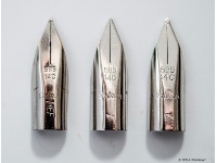 14 ct white gold nibs 1969