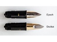 Comparison nib units Epoch and Ductus