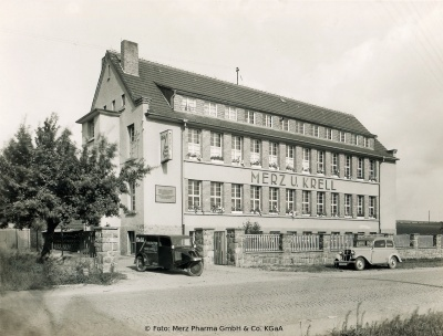 Head building of Merz & Krell in Groß-Bieberau (Germany)